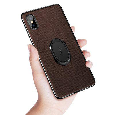 Ring Buckle Protective Magnetic Case for iPhone XS / X