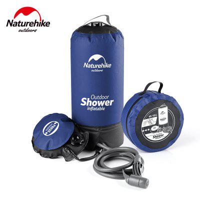 NatureHike 11L Outdoor Portable Inflatable Camping Shower Water Bathing Bag