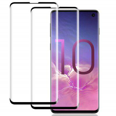 2PCS 0.26mm Curved Full Screen Tempered Glass for Samsung Galaxy S10