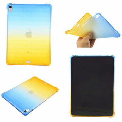 Shockproof Back Cover Color Gradient Soft TPU for iPad Pro 11 2018