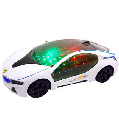 Music Car 3D Lights Universal Car Toy