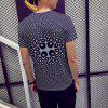 Summer New 3D Printed Casual Men's Round Neck Shirt - MULTI