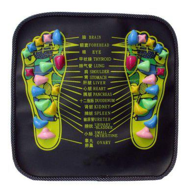 Walk Stone Massager Mat Apparatus Foot Acupressure Cushion