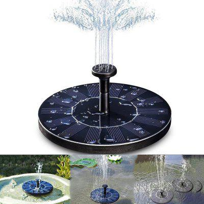 Solárne Powered Floating Bath Fountain Pump