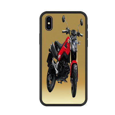 Cool Car Series 6 Organic Nano Scratch Resistant Mobile Phone Case for iPhone X
