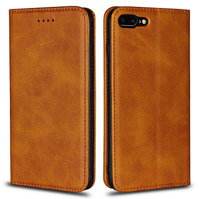 Color Matching Protective Leather Case for iPhone 7 Plus / iPhone 8 Plus