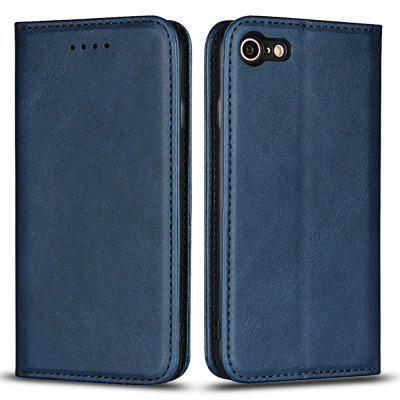 Color Matching Protective Leather Case for iPhone 7 / iPhone 8