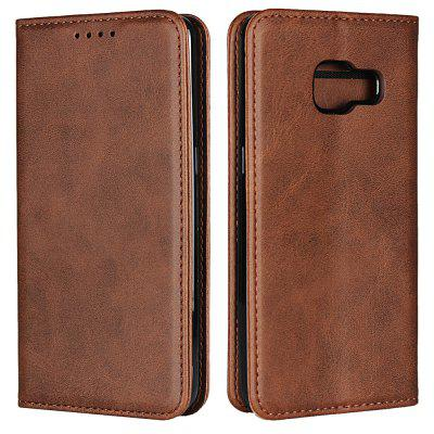 Color Matching Protective Leather Case for SAMSUNG For Feel SC-J4