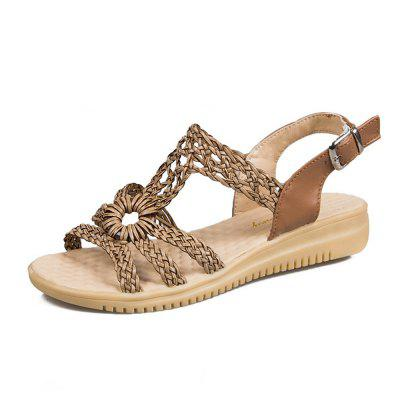 Fashion Flat Bottom Female Sandals 001