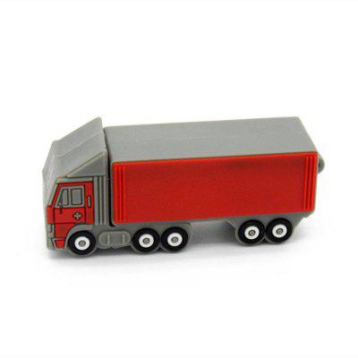 Truck Model U Disk USB 2.0 Flash Drive 8GB 16GB 32GB 64GB 128GB Pendrive