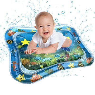 Inflatable Baby Water Mat Fun Activity Play Center Infants