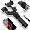 Video Camera Stabilizer Handheld 3-AXIS Gimbal Stabilizer with 12h Run-Time - BLACK