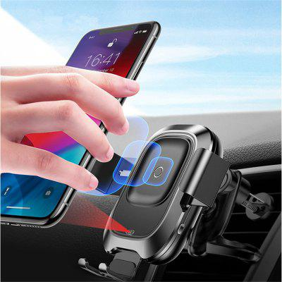Baseus Qi Car Fast Wireless Charger Intelligent Infrared Sensor Phone Holder