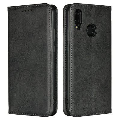 Color Matching Protective Leather Case for HUAWEI P20 Lite/HUAWEI Nova 3E