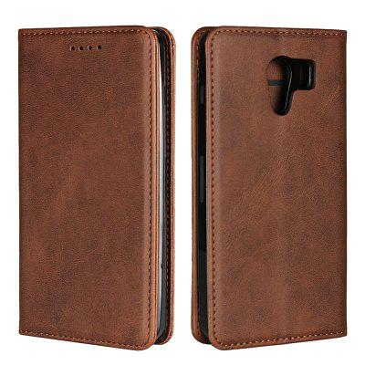 Color Matching Protective Leather Case For Kyocera Android One S2