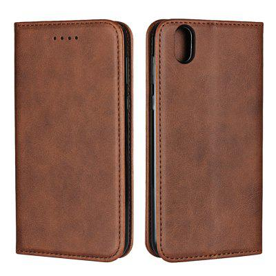 Color Matching Protective Leather Case For Kyocera Android One S3