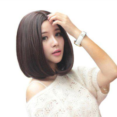 Fashion Lady Pear Head in The Face Repair Wig