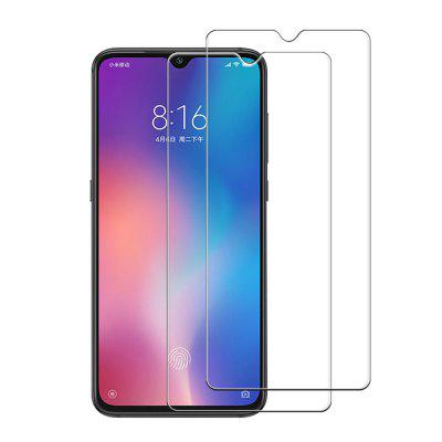 2PCS 0.26mm 9H 3D Full Cover Tempered Glass Screen Protector for Xiaomi Mi 9