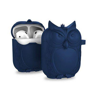 Cartoon Owl Dust Drop Protection Soft Shell Soft Silicone for Airpods