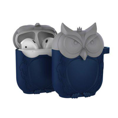 Cartoon Owl Drop Drop Ochrana Soft Shell Soft Silikon pro Airpods