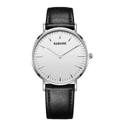 Rarone Genuine Leather Band Japão Quartz Man Watch