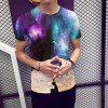 New Star Universe 3D Print 2019 Youth Men'S T-shirt Short Sleeve - MULTI