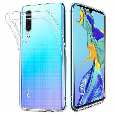 Soft TPU Transparent Protector Case Cover for Huawei P30