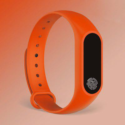 M2 Touch Screen Heart Rate Monitoring Movement  Step Smart Bracelet