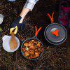 Camping Cookware Set 1-2 People Portable Picnic Pot - MULTI-A