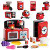 Toys Home Appliances Play Kids Toys Set Light Up Effects with Swirling Colors - MULTI-A