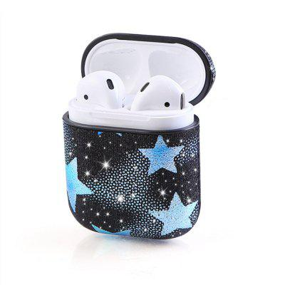 Flashing Stars Protective Case High-Quality TPU Case for AirPods