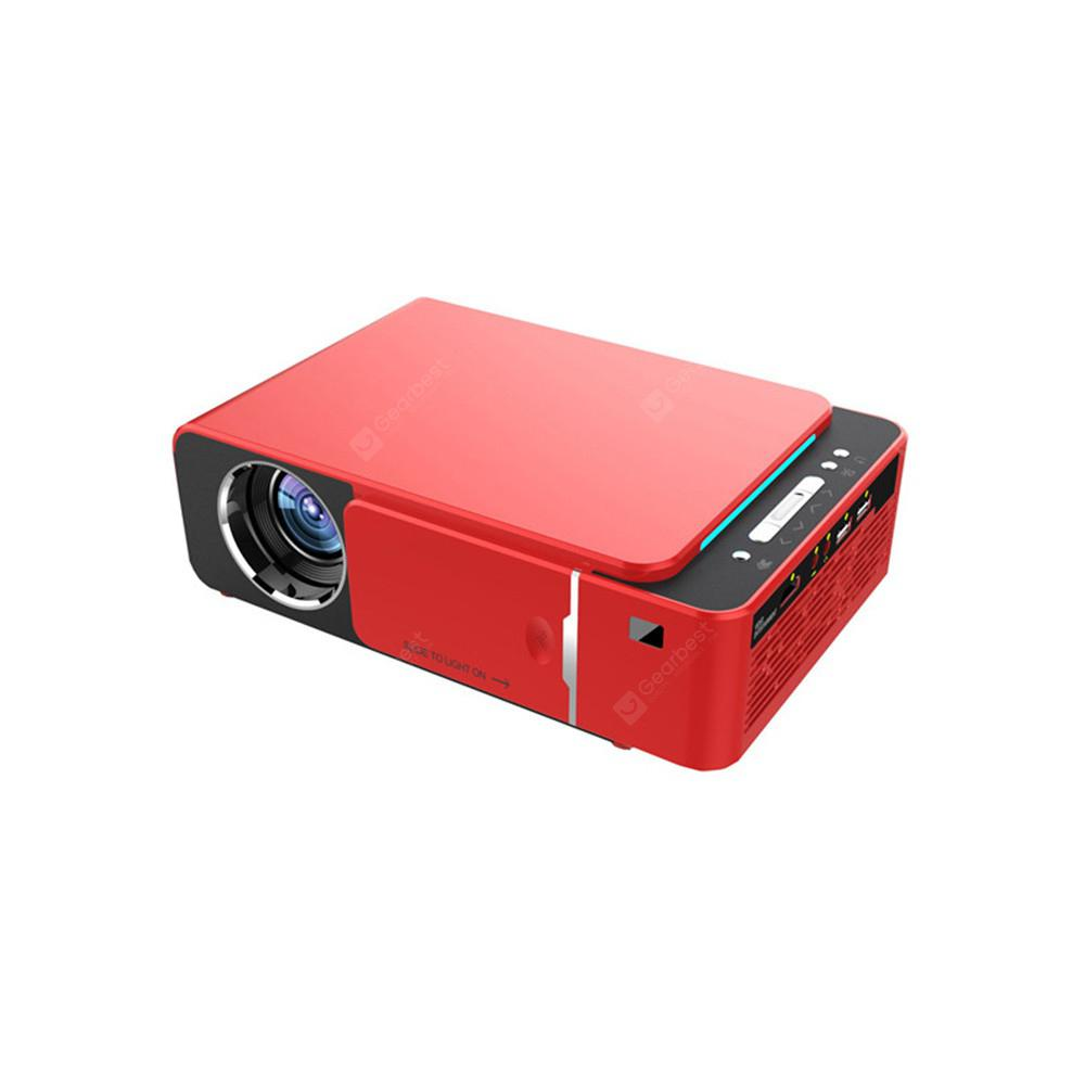 TST6 Projector Home Theater High Lumen Mini Projector - Red