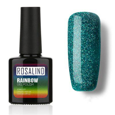 10ML Gel Nail Polish Rainbow Laser Sparkly for Manicure