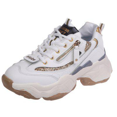 Lacing Style Fashion Thick Sole Sports Shoes (Gearbest) Salinas Used goods
