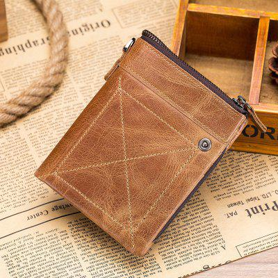Tangguh Leather Zipper Wallet for Men