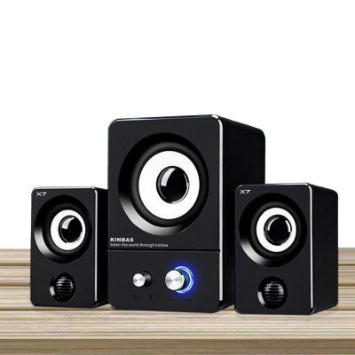 Speaker Multimedia Mini Dual Unit High Quality Sound Stylish Speaker