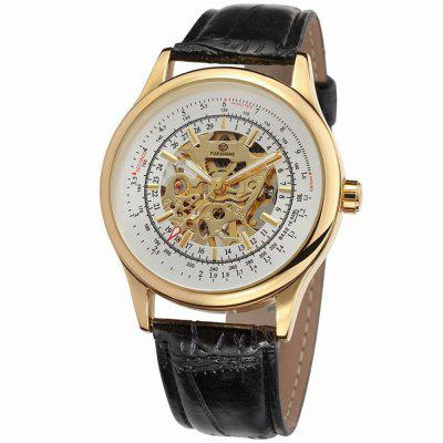 Sport Skeleton Design Men Watches Brand Luxury Sport  Automatic Mechanical Watch