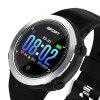 SANDA Color Screen Compass Heart Rate Calorie Monitor Step Watch - SILVER