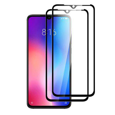 Minismile 2PCS 3D Full-screen Tempered Glass Film Protector Film for Xiaomi Mi 9