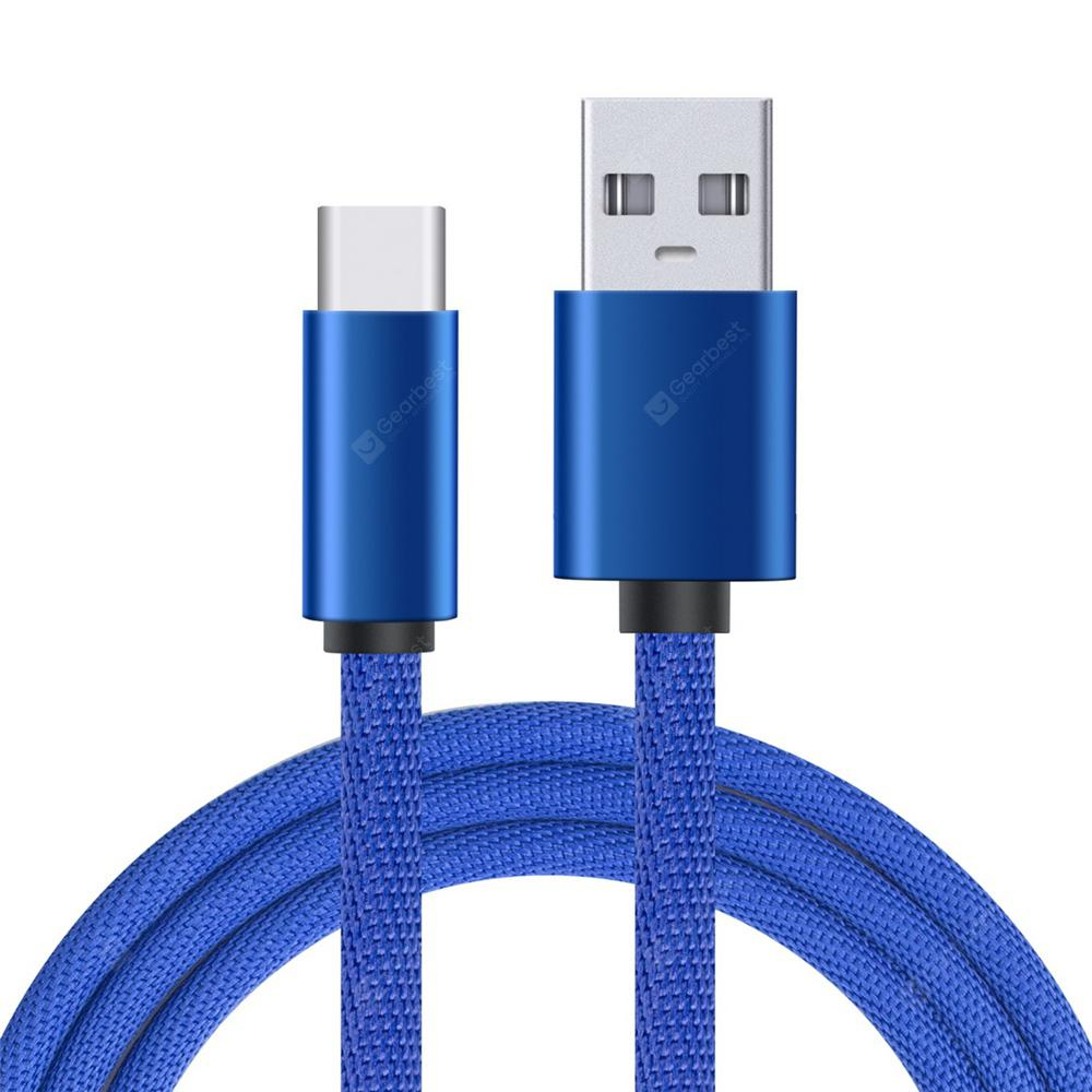 Minismile 5A Grid USB Type-C Super Fast Charge Sync Data Cable