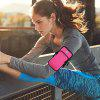Waterproof Outdoor Sports Cellphone Arm Bag Running Fitness Riding Armband - PINK