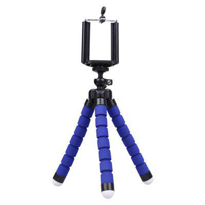 mobile phone holder flexible octopus tripod bracket selfie stand