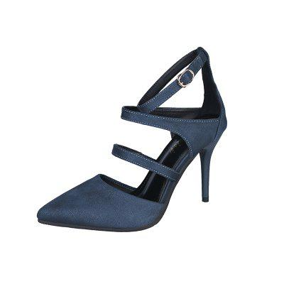 Thin Heels Single Button Sexy Girl Sandals