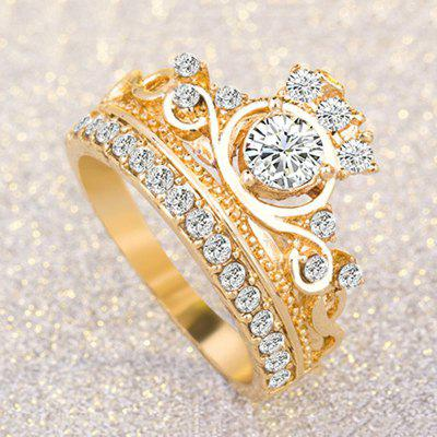 Luxury bride wedding engagement gem anniversary lady's ring jewelry