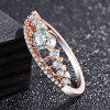 Princess Crown Zircon Engagement Rings for Women Girls - ROSE GOLD