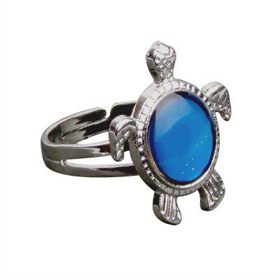 Lovely Turtle Temperature Mood Ring Farbe ändern