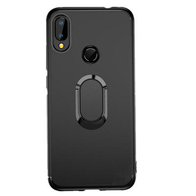Ring Magnet Vehicle Stents TPU Cover Case for Xiaomi Redmi Note 7 / Note 7 Pro