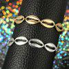 Women'S Simple Ethnic Bohemian Style Alloy Shell Anklet - PLATINUM