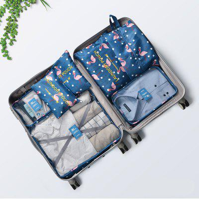 Waterproof Portable Travel Storage Bag Set with 7-PACKAGES Storage Bag