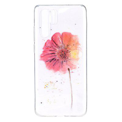 Flower Painting TPU Phone Case for Huawei P30 Pro